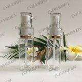 Botella transparente del animal doméstico con la bomba plástica de la loción para el empaquetado de los cosméticos (PPC-PB-079)