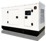 中国エンジン(SDG30KS)によって動力を与えられる50Hz 34kVAの無声タイプディーゼル発電機