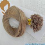 #18 estensione diritta serica dei capelli di punta della cheratina U (TT428)