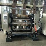 Película de alta velocidad del control del PLC que raja y máquina el rebobinar