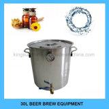 Kingsunshine 30L/8gal si dirige la caldaia di fermentazione dell'acciaio inossidabile del kit di preparazione della birra con il prezzo di fabbrica