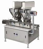 Máquina de relleno y que capsula del petróleo semiautomático de la máquina de etiquetado
