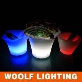 Benna di ghiaccio illuminata LED illuminata per la grande benna di ghiaccio illuminata LED illuminata del partito