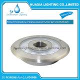 Luz de la piscina de la fuente del acero inoxidable LED de DC12/24V 316