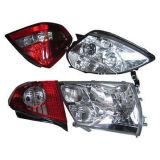 Lampada a cristallo capa automatica dell'automobile della lampada posteriore della lampada per il benz Nissan di Toyota BMW