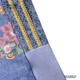Metà di-Waisted cotone della sig.na You Ailinna 304280 floreale più il vestito dalle signore di formato