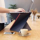 Piano S-Graduato che piega il supporto diritto dello scrittorio con una torsione per il computer portatile del PC del computer portatile