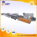 Maquinaria de Fazer Folha Impermeável-Larga do Assoalho do PVC PP-PE Extrusora Plástica da Produção