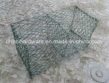 Galvanisation tissée Gabion Box Wire Mesh