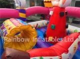 Opblaasbare Suikergoed Funcity van het Huis van Bouncy van de Speelplaats van het suikergoed het Opblaasbare voor Verkoop