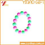 Цветастый изготовленный на заказ браслет полосы запястья руки силикона способа (YB-HR-9)