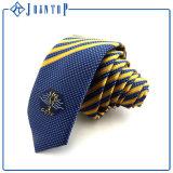 Form-Streifen gesponnene Silk Krawatte
