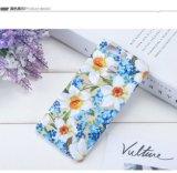 Casi molli del reticolo floreale luminoso su ordine TPU Smartphone