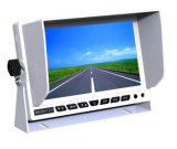 7 pollici dell'automobile di retrovisione di video dell'affissione a cristalli liquidi con lo schermo di Sun