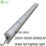 250W 산업 빛을%s 선형 LED 높은 만 점화