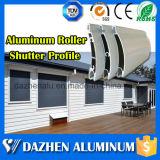 Rolo eletrônico automático / Perfil Rolando Shutter ripas Porta de alumínio Extrusão de Alumínio