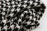 De Black&White Geweven Sjaal van de Tand van de Hond Lange Acryl (HWBA099)
