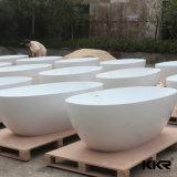 Blanco de acrílico superficie sólida Bañera Ducha