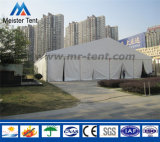 白く明確なスパンの展覧会のためのアルミニウム構造の玄関ひさしのテント