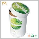 Caixas de presente redondas grandes especiais luxuosas do cartão para a embalagem das folhas