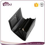 De zwarte Portefeuille van de Huid van de Slang van de Kleur voor Vrouwen, het Echte Ontwerp Van uitstekende kwaliteit van de Portefeuille van het Leer Lange Slanke