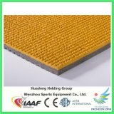Tipo material prefabricado pista corriente de goma del caucho sintetizado