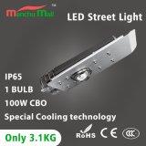 Indicatori luminosi di via di alluminio del corpo 100W LED della lampada esterni