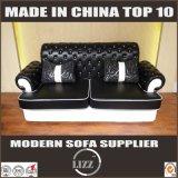 Sofa en cuir d'intérieur 123 de meubles de modèle de Chesterfield