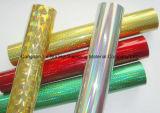 Láminas para gofrar calientes olográficas de la alta calidad para el papel