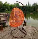 現代屋外の余暇の家具のアルミニウム藤のハングの椅子
