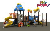 Corrediça plástica para a corrediça pública da área do campo de jogos ao ar livre das crianças do parque (KP-B303)
