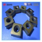Revestimento de insertos de rotação de carboneto indexáveis para ferramentas de corte