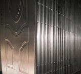 Puerta de la hoja del hierro de acero del mercado de África del precio bajo sola para el exterior