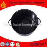 Sunboat Big Heavy Enamel Stock Pot Sopa / Stew, Steam, Boil