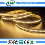 Lumen alto y tira brillante estupenda del LED SMD3528 19.2W / m con UL CE RoHS