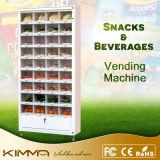 Máquina de Vending embalada da fruta para suportar o pagamento do cartão