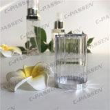 botella privada de aire de la loción del plástico PETG de 15ml 30ml para el empaquetado del cosmético (PPC-PGAB-002)