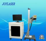 Máquina de la marca del vuelo del laser de la fibra/máquina de grabado/etiqueta de plástico del grabado/laser