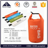 Enrichissez Ultralight Portable Outdoor Travel Rafting PVC Imperméable Dry Bag 2L, 5L, 10L, 15L, 20L, 30L