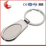 Costo libero della muffa di vendita diretta della fabbrica dello spazio in bianco Keychain del metallo