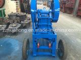 Mini Dieselmotor-Kiefer-Zerkleinerungsmaschine-Preis, kleiner beweglicher Steinfelsen, der Maschine zerquetscht