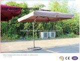 Kleines Rom mit doppeltem Airvent römischem Garten-Regenschirm (TGTA-004)