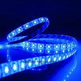 luz de tira brilhante super do diodo emissor de luz da largura 12V 5050 RGB de 10mm
