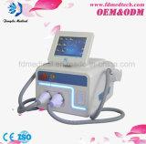 Máquina da beleza do cuidado de pele do punho da remoção dois do cabelo do enrugamento de Opt/IPL/Shr