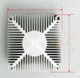 Aluminium die Heatsink met CNC het Machinaal bewerken afschaven