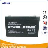 Batería inferior 6V 7ah de la UPS de MOQ para el sistema de seguridad