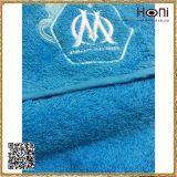 高品質の100%年の綿の青い浴室タオル