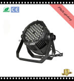2017 al aire libre impermeable LED PAR puede 54PCS 3W 5-en-1 LED para grandes conciertos, estudio de TV