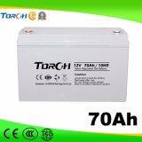 Batteries de gel de la batterie d'acide de plomb 12V 70ah VRLA de capacité totale