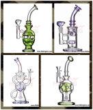 Da alta qualidade de vidro de vidro por atacado da tubulação de tabaco do equipamento da SOLHA da plataforma petrolífera do bebedoiro automático da tubulação de água de Hbking tubulação de fumo de vidro